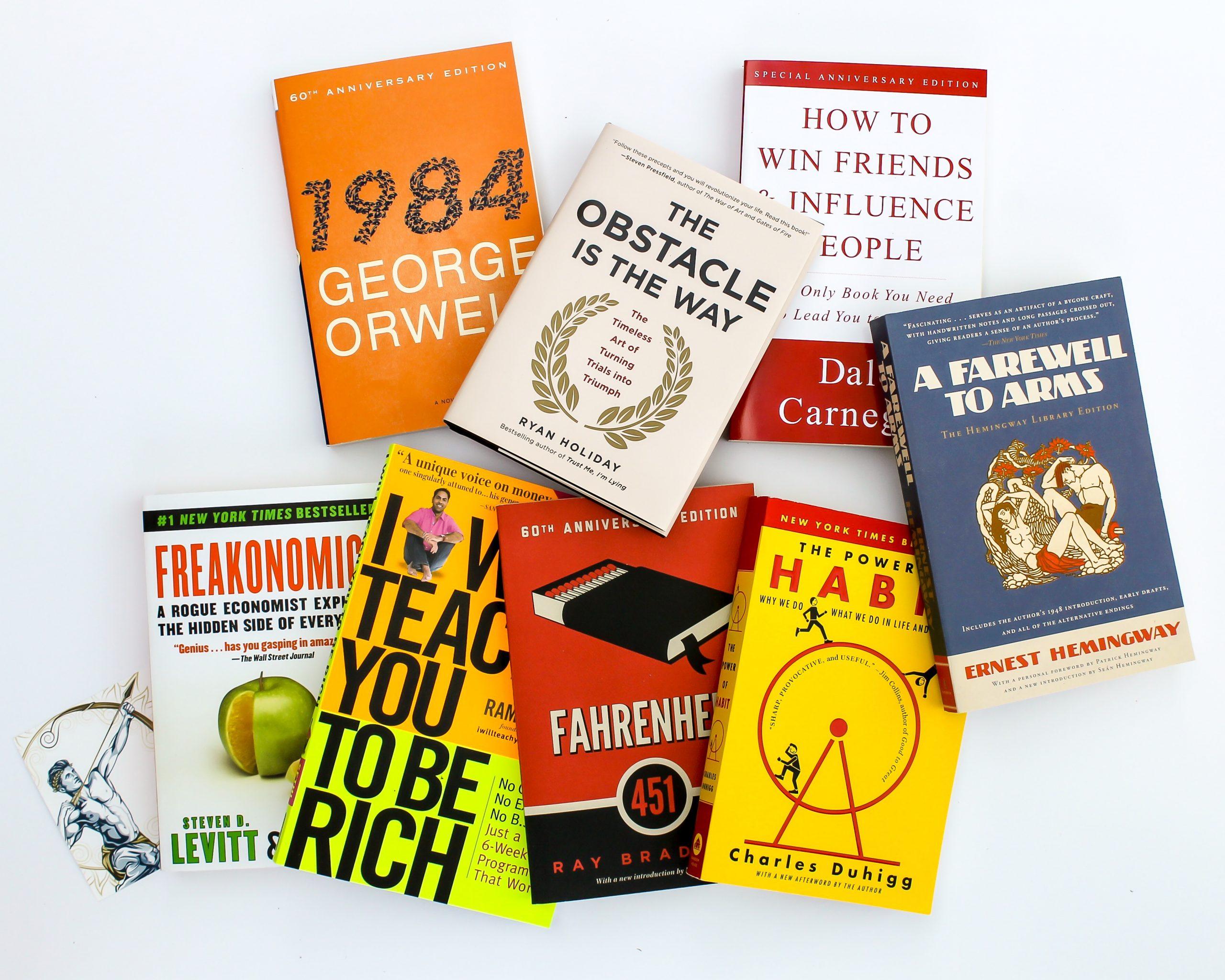 Book Subscription Box for Men