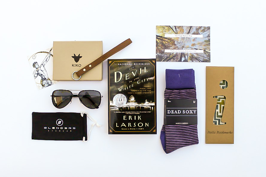 The October Culture Carton Subscription box For Men